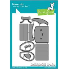 Lawn Fawn Dies - Tiny Gift Box Bee Add-On
