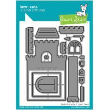 Lawn Fawn Dies - Build-A-Castle