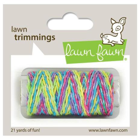 Lawn Fawn Trimmings Hemp Cord 21yd - Unicorn Tail