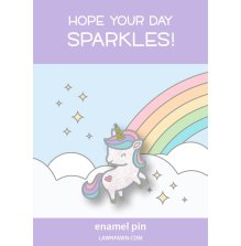 Lawn Fawn Ornaments Enamel Pin - My Little Unicorn
