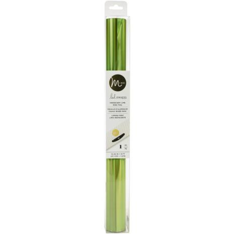 Heidi Swapp Minc Reactive Foil 12.25X6ft - Iridescent Lime