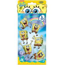 EK Success Nickelodeon Flat Stickers 2/Sheets - SpongeBob
