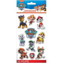 EK Success Disney Nickelodeon Dimensional Stickers 10/Pkg - Paw Patrol