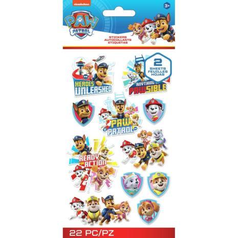 EK Success Disney Nickelodeon Flat Stickers 22/Pkg - Paw Patrol