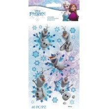 EK Success Disney Frozen Flat Stickers 46/Pkg - Olaf