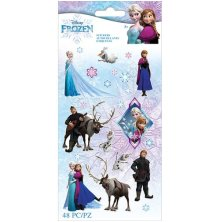 EK Success Disney Frozen Flat Stickers 48/Pkg - Frozen