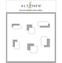 Altenew Stencil 6X6 - Piles of Presents