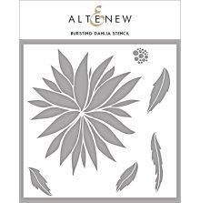 Altenew Stencil 6X6 - Bursting Dahlia