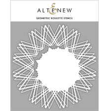 Altenew Stencil 6X6 - Geometric Roulette