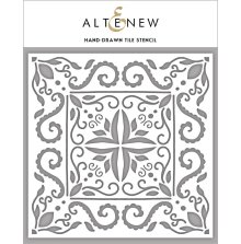 Altenew Stencil 6X6 - Hand-Drawn Tile