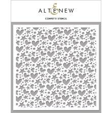 Altenew Stencil 6X6 - Confetti