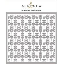 Altenew Stencil 6X6 - Floral Wallpaper