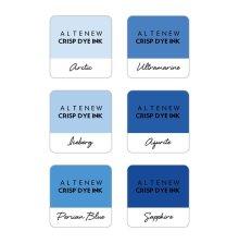 Altenew Dye Inks 6 Mini Cube Set - Icy Lake