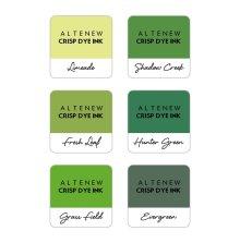 Altenew Dye Inks 6 Mini Cube Set - Zesty Limes