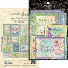 Graphic 45 Ephemera & Journaling Cards - Fairie Wings