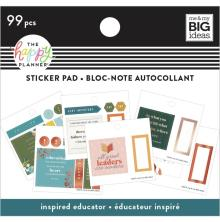 Me & My Big Ideas Happy Planner Tiny Sticker Pad - Inspired Educator