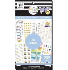 Me & My Big Ideas Happy Planner Sticker Value Pack -  Icons Teacher BIG