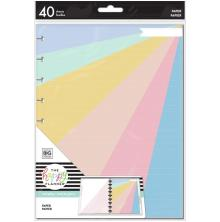 Me & My Big Ideas CLASSIC Fill Paper 40/Pkg - Pastel Color Rainbow