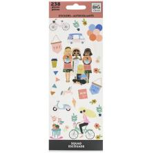 Me & My Big Ideas Stickers 238/Pkg - Squad