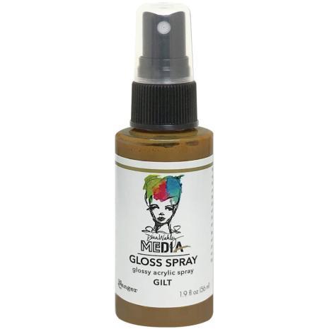 Dina Wakley Media Gloss Spray 56ml - Gilt