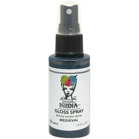 Dina Wakley Media Gloss Spray 56ml - Medieval