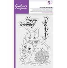 Crafters Companion Photopolymer Stamp - Cattitude