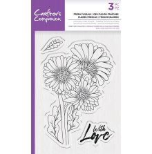 Crafters Companion Photopolymer Stamp - Fresh Florals