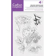 Crafters Companion Photopolymer Stamp - Field Mice