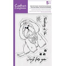 Crafters Companion Photopolymer Stamp - Paws for thought