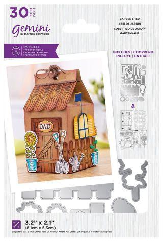 Gemini Decorative Box Stamp & Die - Garden Shed