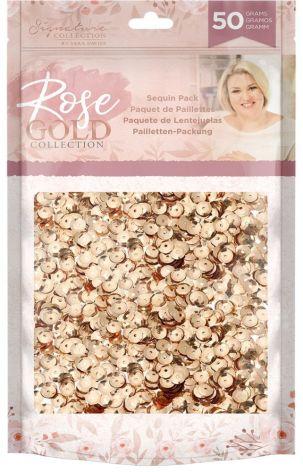 Sara Signature Rose Gold Sequin Pack