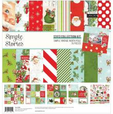 Simple Stories Collection Kit 12X12 - Simple Vintage North Pole