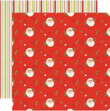 Simple Stories Simple Vintage North Pole Double-Sided Cardstock 12X12 - I´ve Bee