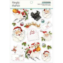Simple Stories Sticker Book 4X6 12/Pkg - Simple Vintage North Pole