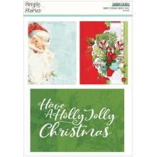 Simple Stories Snap Cards 72/Pkg - Simple Vintage North Pole