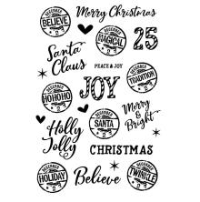 Simple Stories Clear Stamps - Simple Vintage North Pole