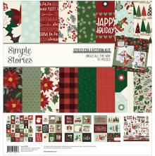 Simple Stories Collection Kit 12X12 - Jingle All The Way