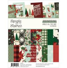 Simple Stories Double-Sided Paper Pad 6X8 24/Pkg - Jingle All The Way