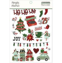Simple Stories Sticker Book 4X6 12/Pkg - Jingle All The Way