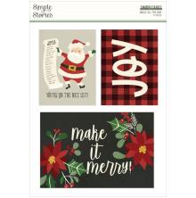Simple Stories Snap Cards 72/Pkg - Jingle All The Way