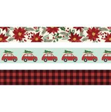 Simple Stories Washi Tape 3/Pkg - Jingle All The Way