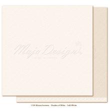 Maja Design Monochromes 12X12 Shades of Miles Apart - Soft White