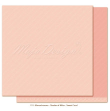 Maja Design Monochromes 12X12 Shades of Miles Apart - Sweet Coral