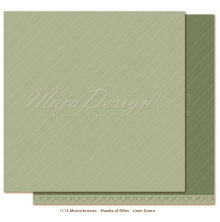 Maja Design Monochromes 12X12 Shades of Miles Apart - Linen Green