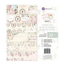 Prima Double-Sided Paper Pad 8X8 30/Pkg - Sugar Cookie By Frank Garcia