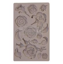 Prima Redesign Mould 5X8 - Fragrant Roses