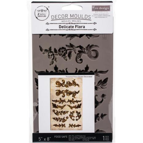 Prima Redesign Mould 5X8 - Delicate Flora