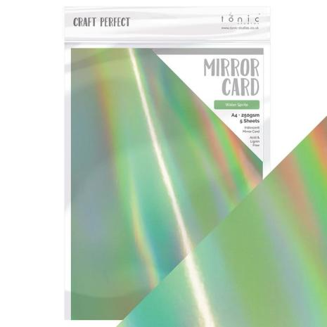 Tonic Studios Craft Perfect Mirror Card A4 - Water Sprite 9776E