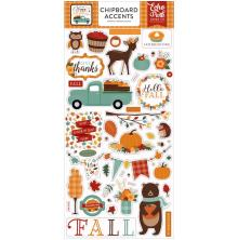 Echo Park Happy Fall Chipboard 6X13 - Accents
