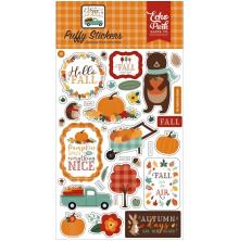Echo Park Puffy Stickers - Happy Fall